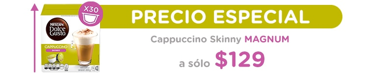 Cappuccino Skinny 30 Pack  a $129