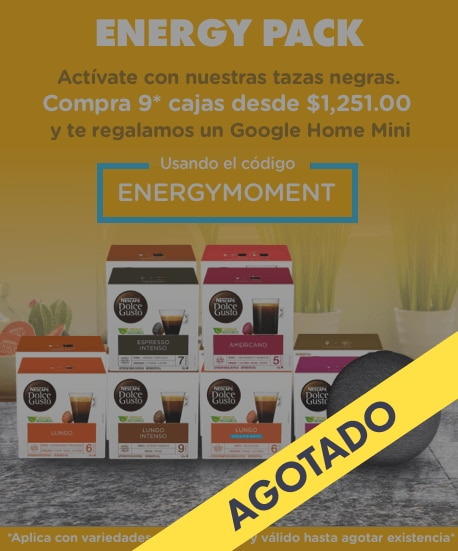 Momentos Dolce Energy pack